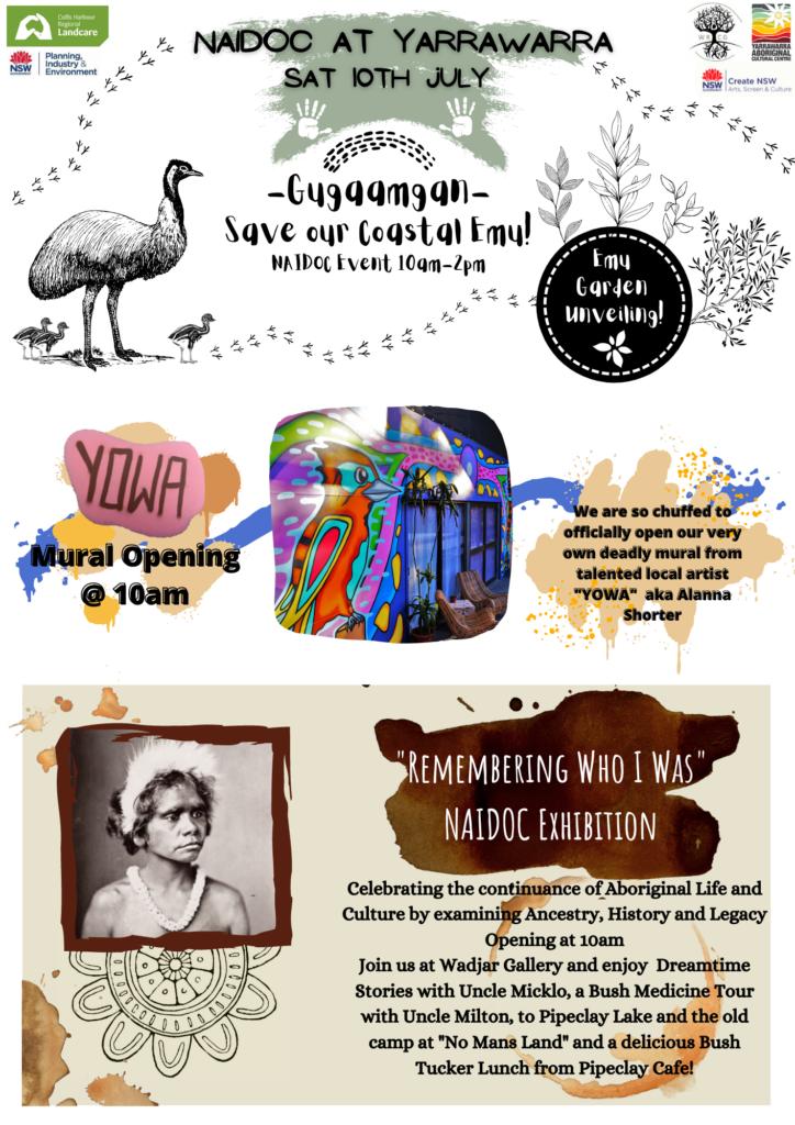 Naidoc Event Gugaamgan: Save our Coastal Emun