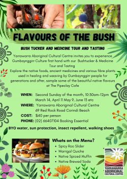 Flavours of the Bush Flyer