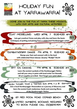 Holiday Activities April 2021